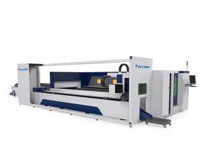 průmyslový kovový trubkový laserový řezací stroj elektrický pohon zásuvka styl zásobník