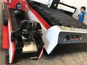 ss pipes 3d laserový řezací stroj / 3 osá řezačka plechů