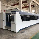 profesionální cnc vlákno laserový řezací stroj 1000w 1500w s výměnou stolu