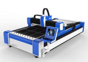 500w vlákno laserový řezací stroj pro nerezovou ocel / ms vysokorychlostní 100m / min