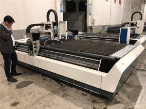 řezání trubek a plechů v jednom laserovém řezacím stroji 700-6000w