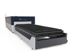 průmyslový laserový řezací stroj s duálním pohonem 380v pro konstrukci kovových desek
