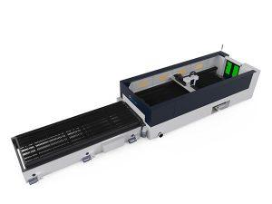 vysoce přesný laserový řezací stroj s kovovými vlákny, 500w paprsková řezací hlava