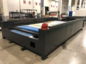 profesionální kovová deska a trubka řezačka vláken laserová řezačka