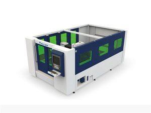 mini 500w vlákno laserový řezací stroj pro uzavřenou trubku a plech
