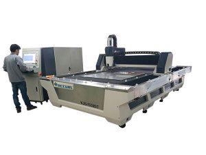 plně uzavřený cnc vláknový laserový řezací stroj 1000w 1080nm laser