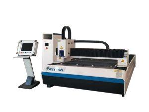 Úspora místa v laserovém řezacím stroji na řezání plechu 25 m / min se systémem světelné dráhy