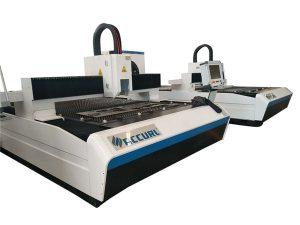 průmyslový laserový řezací stroj z plechu s ochranným krytem 500 W