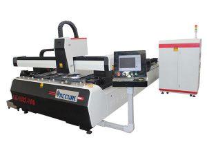 Laserový kovový řezací stroj o výkonu 1 000 W 1 500 W pro měkkou ocel, řezná rychlost 45 m / min