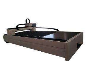 deska / trubka kovové vlákno laserový řezací stroj jediný pracovní stůl