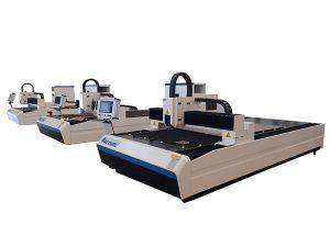 vysoce přesný laserový řezací stroj s duálním lineárním motorem pro kovovou desku