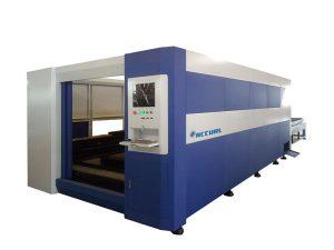 Řezací stroj s laserovou ocelí 380 V / 50 Hz, laserová řezačka s inteligentními vlákny