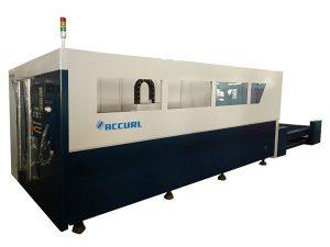 700-2000w laserový řezací stroj s vláknovým kovem s chlazením vodou