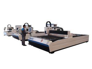 Vysoce přesný laserový gravírovací řezací stroj pro tloušťku plechu 5 mm