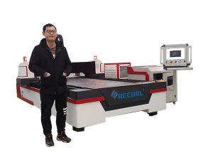 lineární vedení cnc laserové řezání trubek stroj pro měď / titan