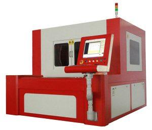 malý laserový přesný řezací stroj na uhlíkovou ocel