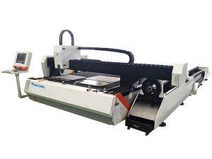 1000w trubice kovové vlákno laserový řezací stroj nastavitelná rychlost
